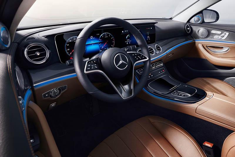 palanca de velocidades - Mercedes-Benz Clase E interior
