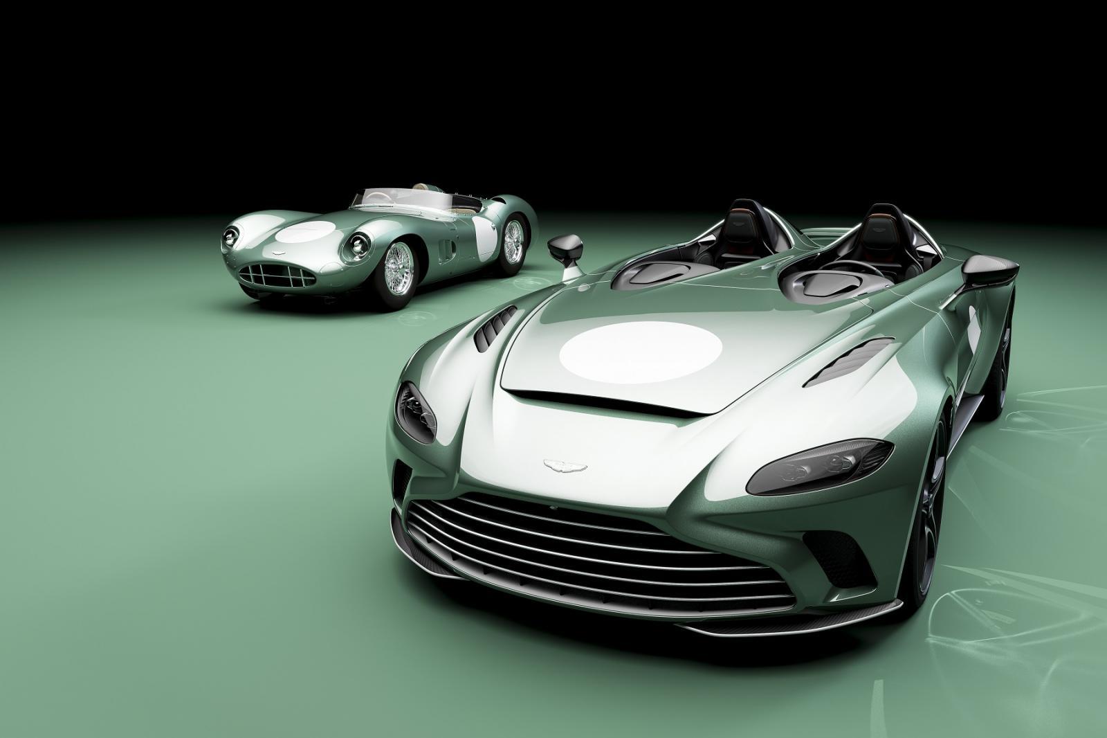 Aston Martin V12 Speedster edición DBR1