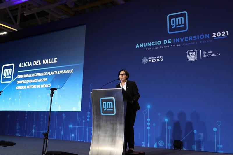 Alicia del Valle General Motors