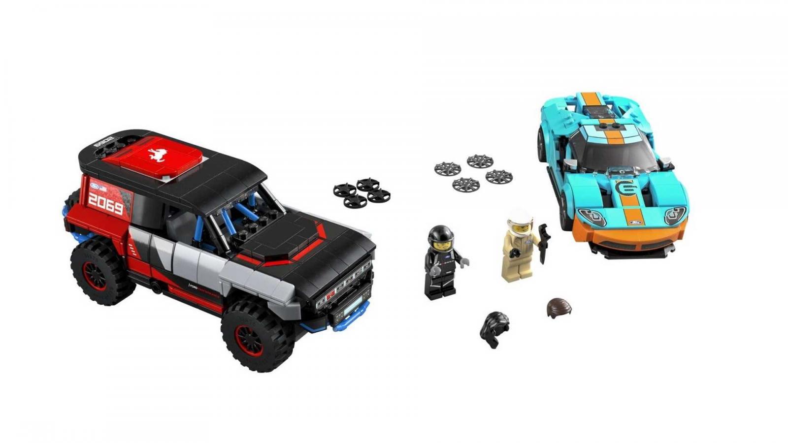 Lego Ford GT y Bronco R