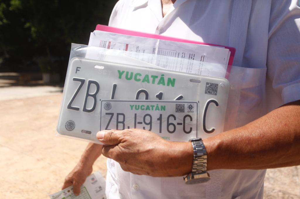 tarjeta de circulación Yucatán 1