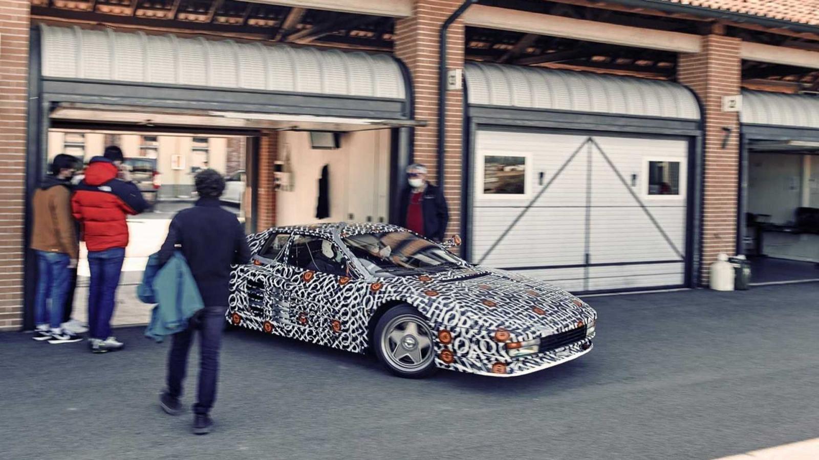 Officine Fiovaranti Ferrari Testarossa