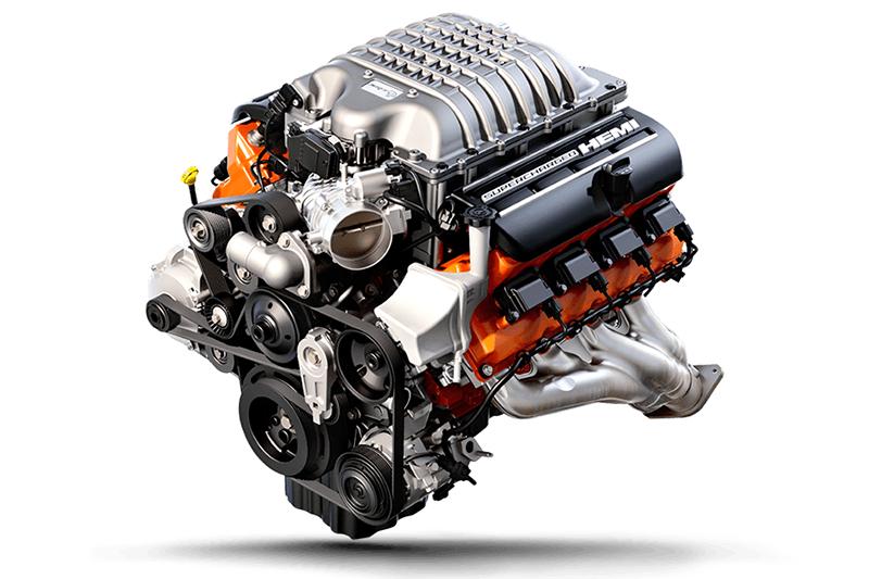 Motor V8 HEMI