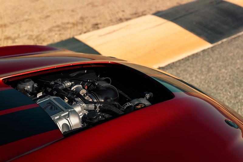 Ford Mustang con motor V8