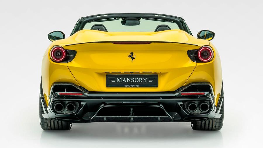 La potencia del Ferrari Portofino M se elevó hasta los 710 caballos de fuerza