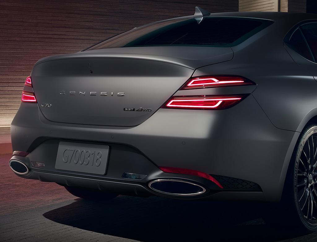 Genesis G70 Launch Edition