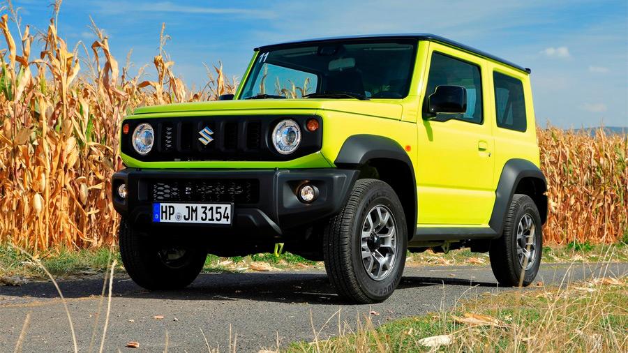 La Suzuki Jimny de 5 puertas mediría 3,850 mm de largo