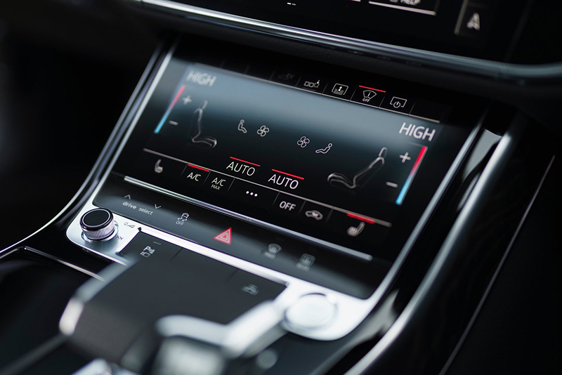 Audi A8 interior