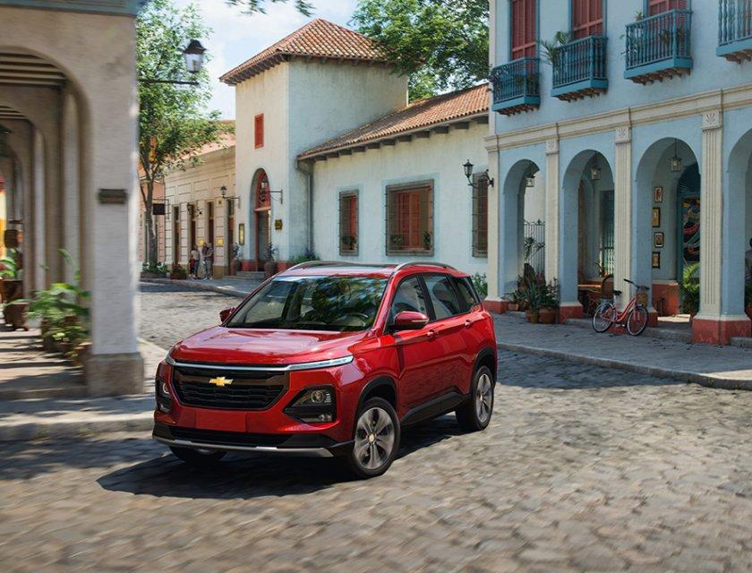 SUV de Chevrolet - Chevrolet Captiva