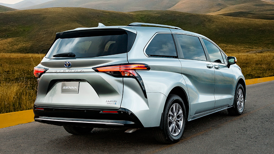 Toyota Sienna precio 8