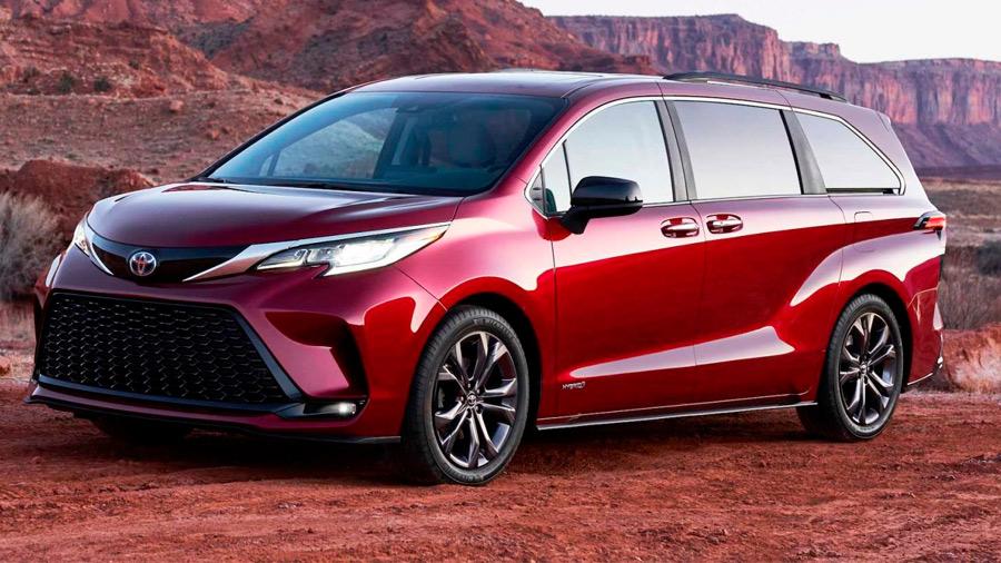 Toyota Sienna precio 4