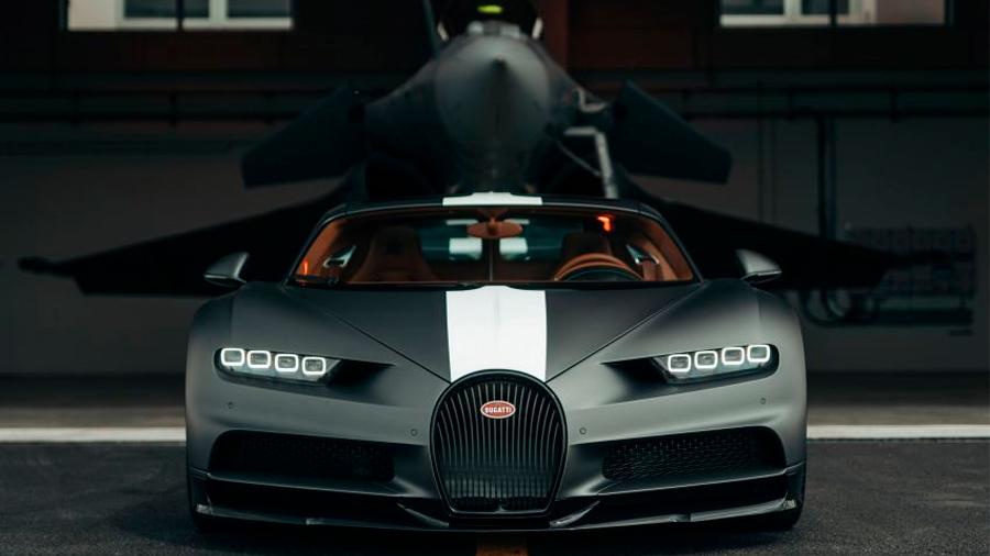 Esta edición especial del Bugatti Chiron fue presentada a finales de abril de 2021