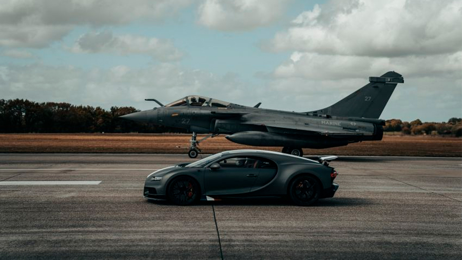 El superdeportivo acelera de 0 a 100 km/h en un lapso de 2.4 segundos