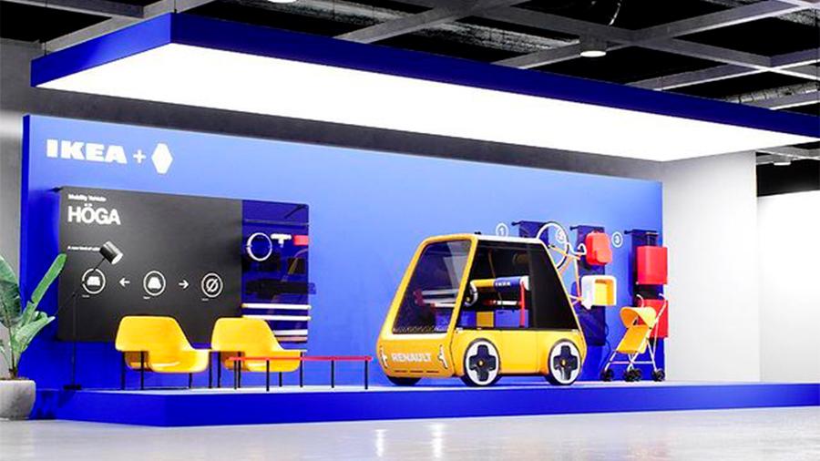 El coche se vendería a través de las tiendas de IKEA