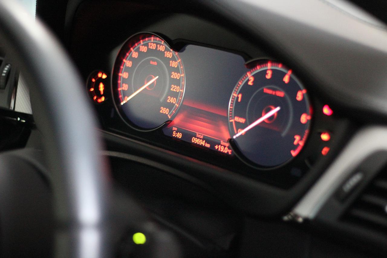 Velocímetro digital BMW