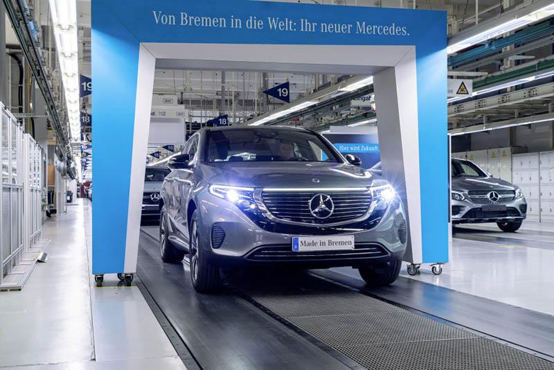 Mercedes-Benz producción