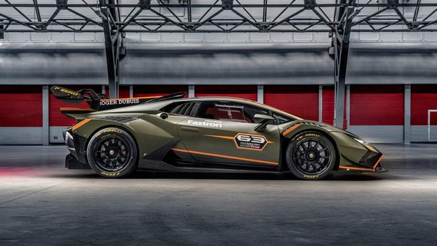 El Lamborghini Huracán Super Trofeo EVO2 es una versión de competencia