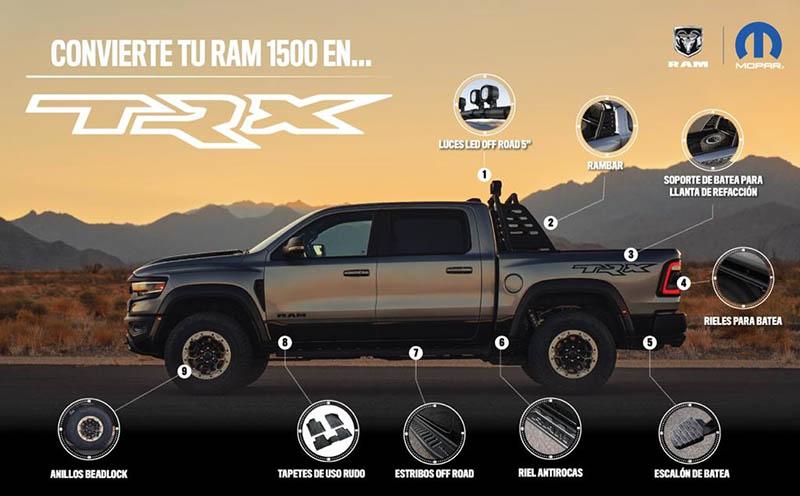 Accesorios RAM 1500