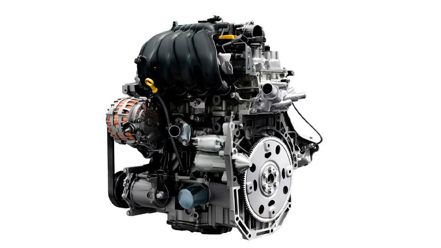 Es la única versión con el motor 4 cilindros turbo