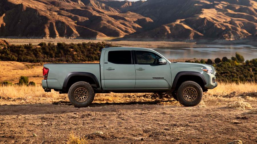 La Toyota Tacoma Trail Edition lleva una suspensión más elevada