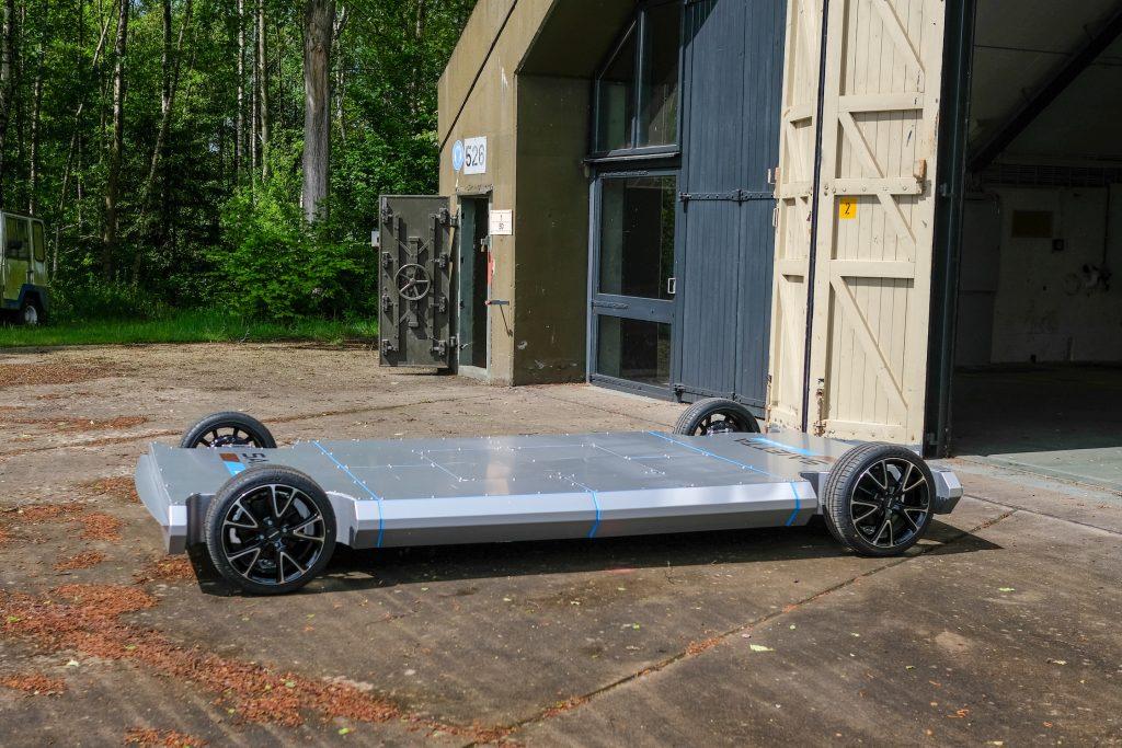 Saietta plataforma motor en rueda