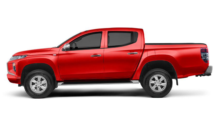 La pick-up de Mitsubishi todavía se muestra capaz y versátil, pero luce anticuada