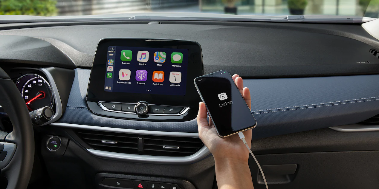 Chevrolet Tracker Apple CarPlay