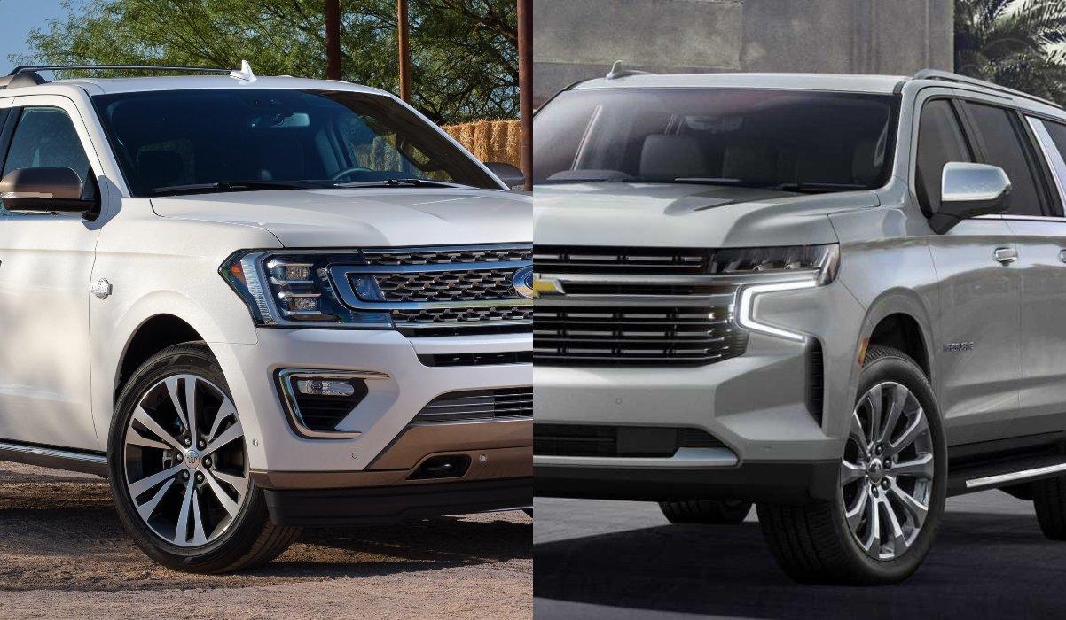 Comparación entre Ford Expedition e Infiniti QX80