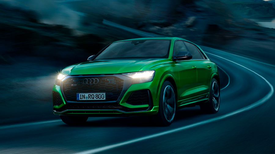 Entre las SUV de Audi más caras se encuentra la Audi RS Q8
