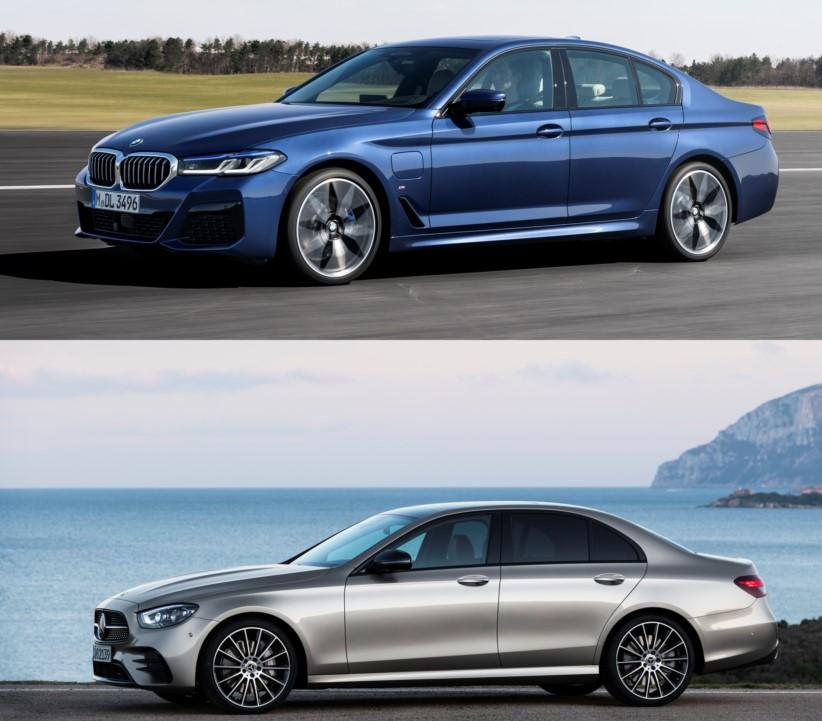 Comparación entre BMW Serie 5 y Mercedes-Benz Clase E