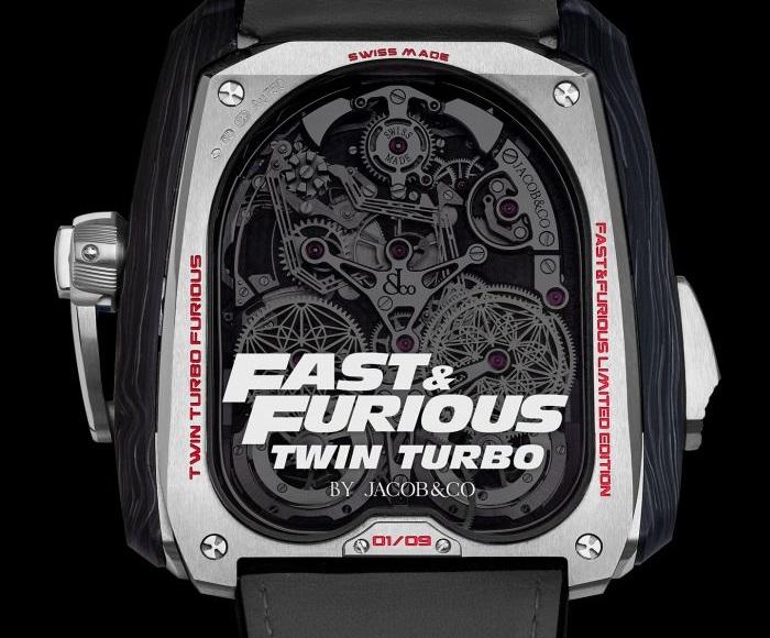 Jacob & Co Twin Turbo Fast & Furious
