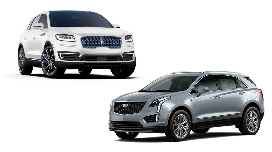 La Cadillac XT5 es más costosa que la Lincoln Nautilus precio
