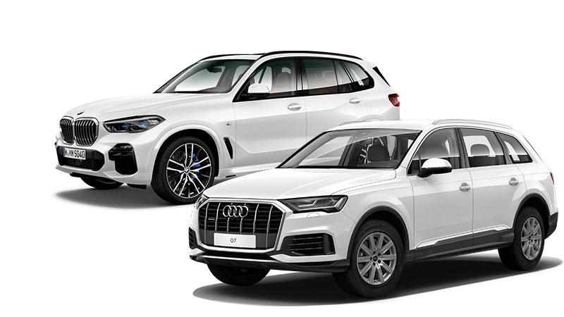 Audi Q7 vs BMW X5
