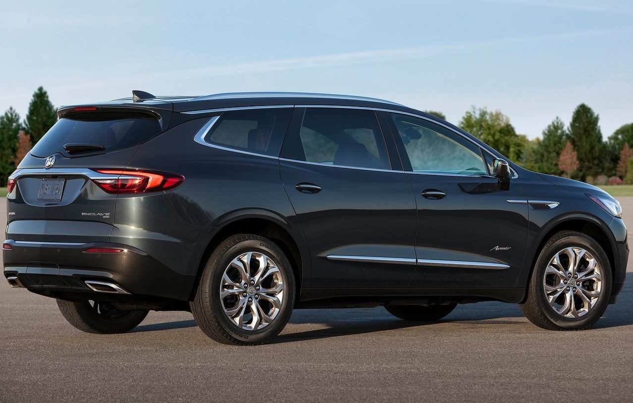 Buick Enclave lateral