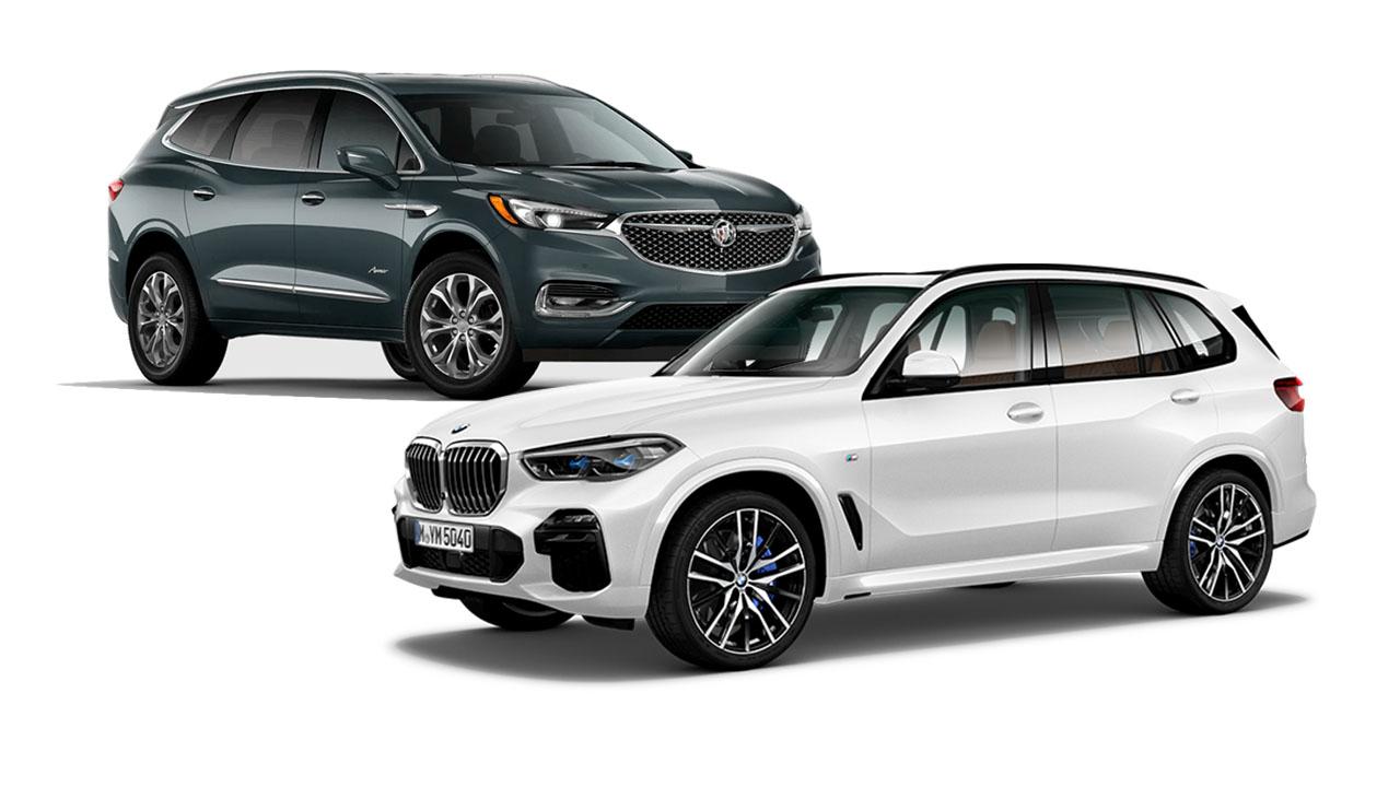 Buick Enclave vs BMW X5