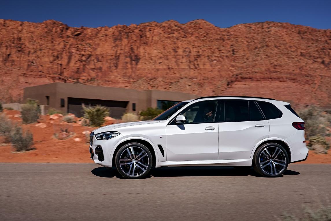 BMW X5 vista lateral