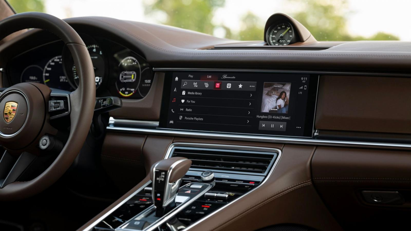 Porsche panamera nuevo sistema infoentretenimiento