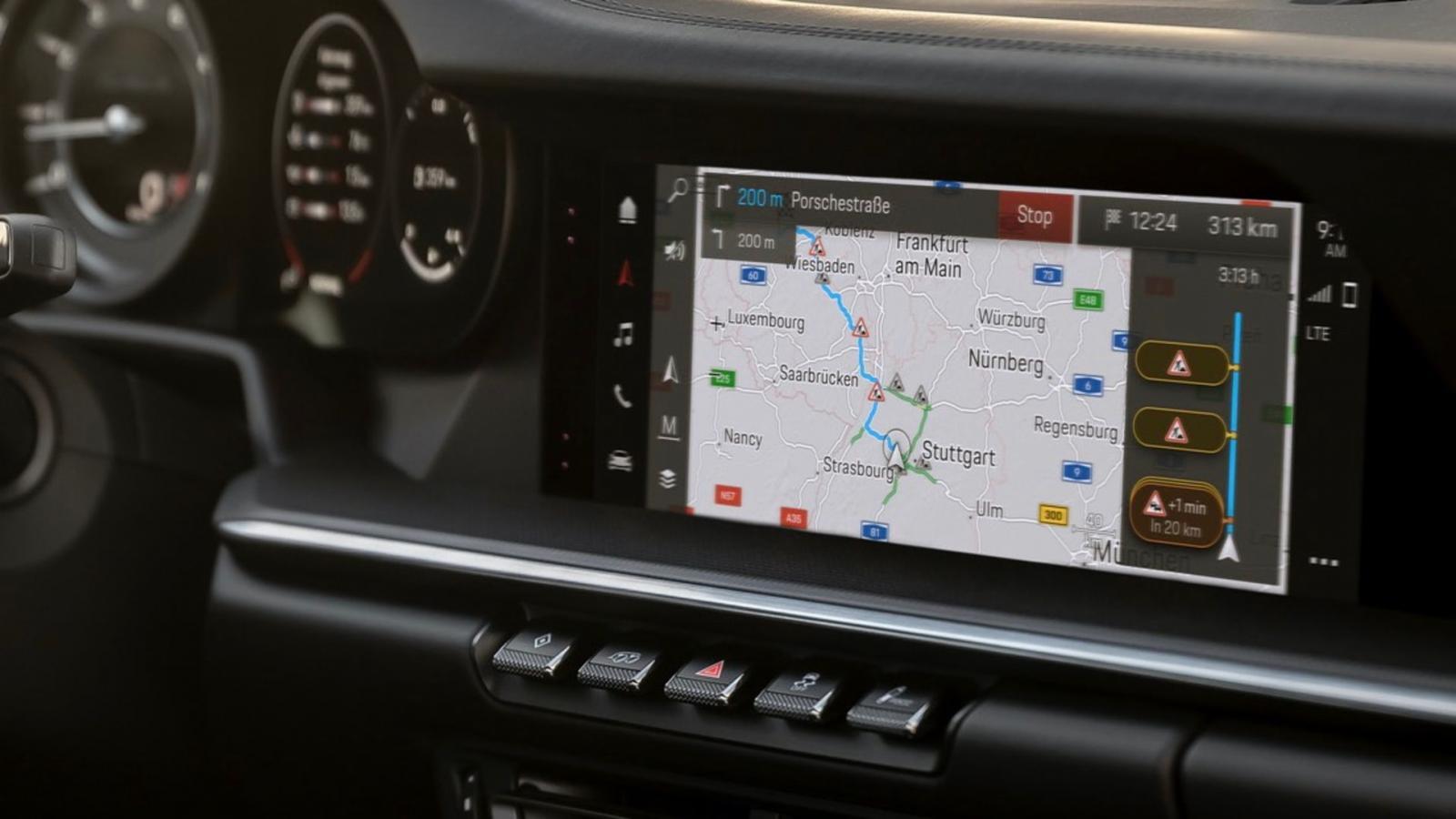 Porsche panamera nuevo sistema de navegación