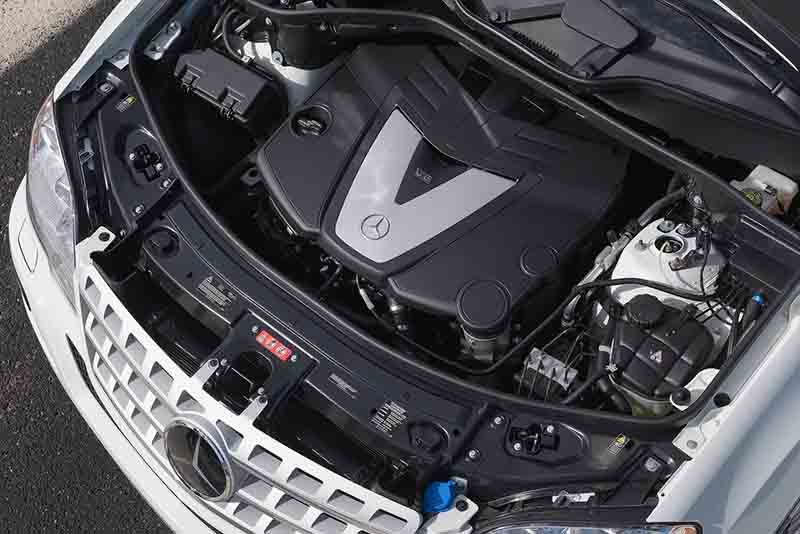 Mercedes-Benz Clase M motor