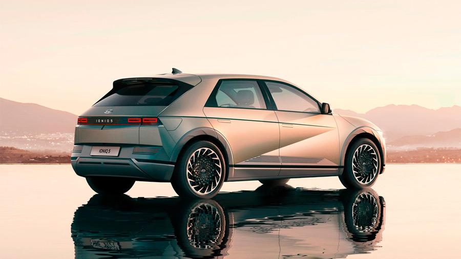 La Hyundai Ioniq 5 es el primer modelo construido sobre la plataforma E-GMP