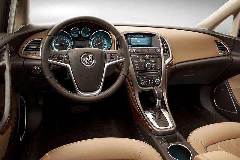 Buick Verano interior