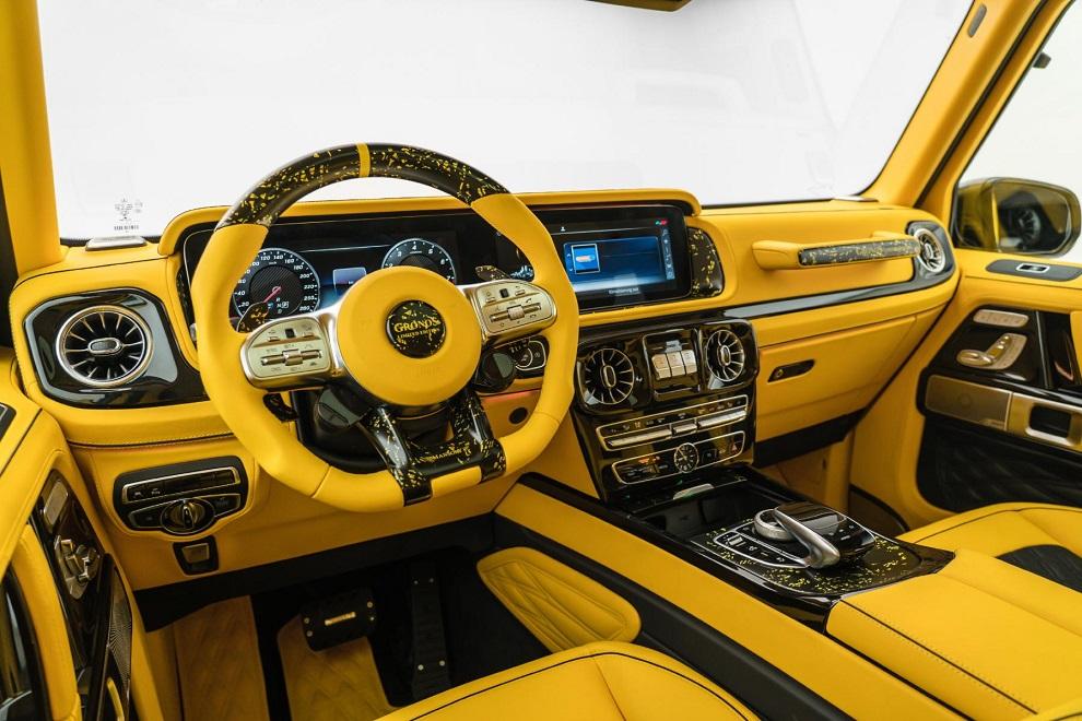 La Mercedes-Benz Clase G se disfraza de abejorro gracias a Mansory