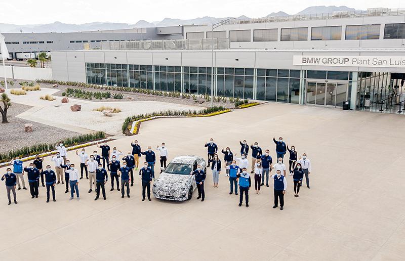 BMW planta san luis potosí