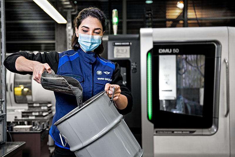 BMW reciclaje
