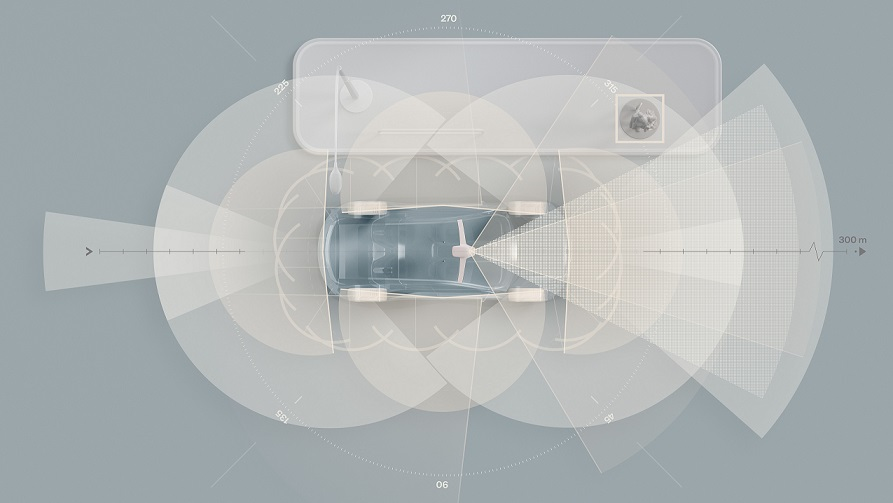 La próxima SUV eléctrica de Volvo llegará con tecnología LiDAR