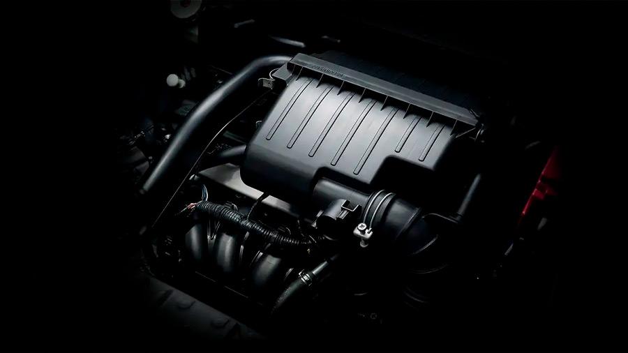 El Mitsubishi Mirage G4 GLS CVT 2022 incorpora un motor 3 cilindros de 1.2 litros que brilla por su gran ahorro de combustible
