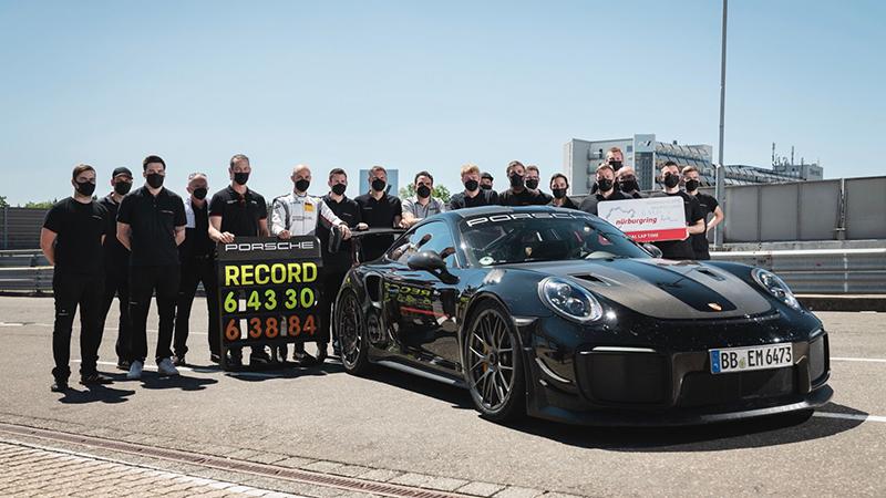 Porsche 911 GT2 RS récord