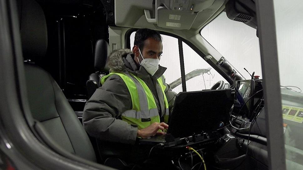 Video: ¡Al extremo! Así se prueba la resistencia de la Ford E-Transit