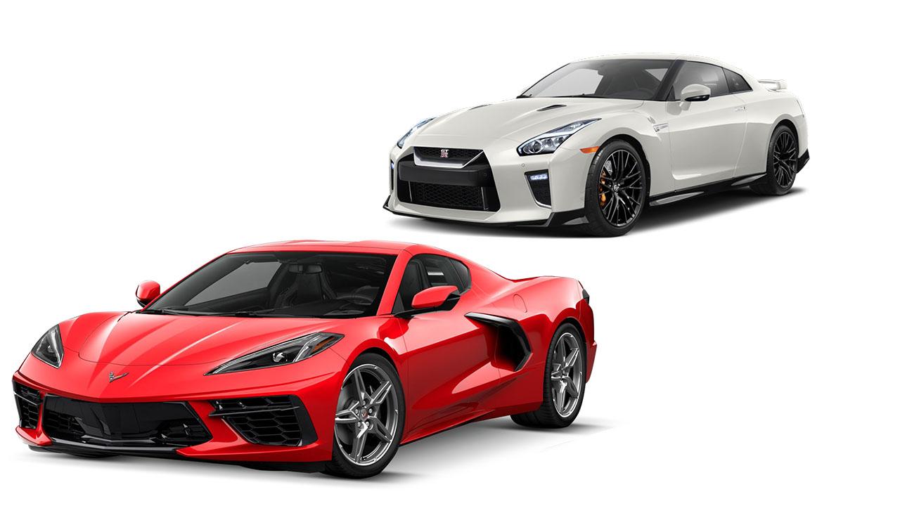 Chevrolet Corvette vs Nissan GT-R