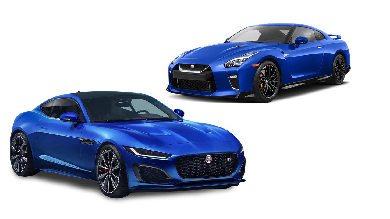 Nissan GT-R Jaguar F-Type